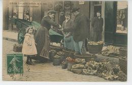 TOURS - Métiers De TOURS - Edition GRAND BAZAR - N°534 - Les Petits Métiers De La Rue - Marchand De Légumes - Tours