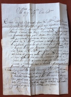 MILANO 19/6/1772  LETTERA COMPLETA  A CARLO VICARIO BARONE DI S.AGABIO A CANNERO - Italie