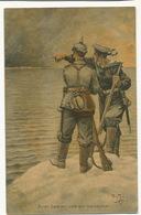 German Red Cross Signed Arthur Thiele Navy - Croix-Rouge
