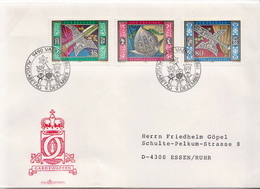 Postal History Cover: Liechtenstein Used FDC - Museums