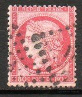 FRANCE - 1872 - Emission Dutype Cérès , IIIème République - N° 57 - 80 C. Rose - 1871-1875 Ceres