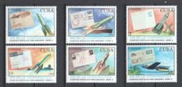 Cuba 1990 Mi 3372-3377 MNH STAMP ON STAMP - Briefmarken Auf Briefmarken