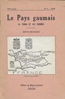 La Pays Gaumais. La Terre Et Les Hommes. Virton. Table Analytique Des Matières Publiées. 1940-1949 - Kultur