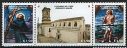 SMOM 2014 Sass.1188/90 MNH/** VF - Malte (Ordre De)