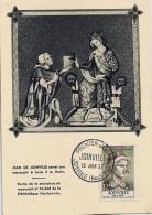52 - HAUTE MARNE - JOINVILLE - 1957 - TàD De Type ILLUSTRE - Postmark Collection (Covers)