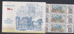 Slovaquie Carnet  N° 285 XX  : Journée Du Timbre, Le Carnet Sans Charnière, TB - Unused Stamps
