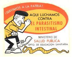 ETIQUETA    AQUI LUCHAMOS CONTRA EL PARASITISMO INTESTINAL - Publicidad