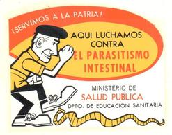 ETIQUETA    AQUI LUCHAMOS CONTRA EL PARASITISMO INTESTINAL - Otros