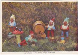 Postcard - Leprechauns - The Little People Of Ireland - Card No. 4000 - VG - Postcards