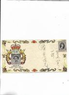 Brief Von Hong-Kong 1953 FDC - Timbres
