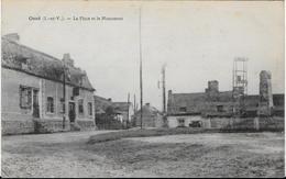 OSSE (I.-et-V.) - La Place Et Le Monument CPA écrite - France