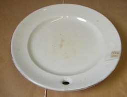 PL. 426. Assiette Chauffante. Porcelaine Opaque. Hot Plate. Opaque Porcelain. Briogwood & Son - Ceramics & Pottery