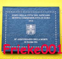 Vaticaan - Vatican - 2 Euro 2018 Comm In Blister.(Padre Pio) - Vaticaanstad