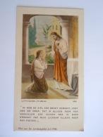 Image Pieuse Holy Card Santini Jezus Communie Jésus Communion 1936 Coppin-Goisse Ath Belgium 4039 - Santini