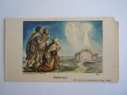 Image Pieuse Holy Card Santini Kerstmis Noël Herders Bergers 1936 Coppin-Goisse Ath Belgium 3561 - Santini