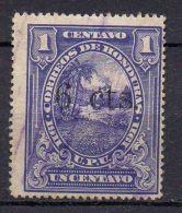 HONDURAS (  POSTE ) : Y&T N°  128  TIMBRE  BIEN  OBLITERE . - Honduras