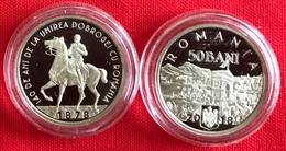 "Romania 50 Bani 2018 ""140y Union Of Dobruja"" PROOF - Romania"