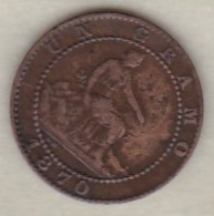 Provisional Government, 1 Centimo 1870 - [ 1] …-1931 : Royaume