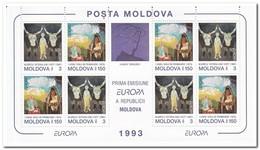 Moldavië 1993, Postfris MNH, Europe, Contemporary Arts - Moldavië