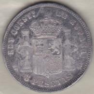5 Pesetas 1890 MP.M. Alfonso XIII En Argent - [ 1] …-1931 : Royaume