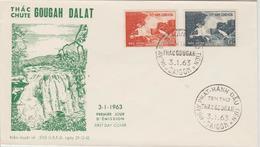 Vietnam FDC 1963 Chutes De Dalat 204-205 - Viêt-Nam