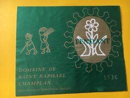 8942 - Fendant Domaine De Saint-Raphael Champlan   Suisse - Etiketten