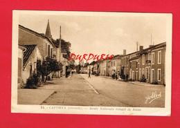[33] Gironde > CAPTIEUX Route Nationale Venant De Bazas - France