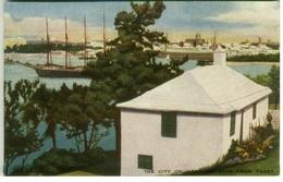 BERMUDA - HAMILTON SEEN FROM PAGET - EDIT VULCAN PRESS THE R.A.P. CO. LTD  - 1920s (BG733) - Bermuda