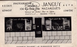 13 / MARSEILLE / MAZARGUES / POCHETTE DEVELOPPEMENT PHOTO / JANGUY / 104 RUE EMILE ZOLA - Quartiers Sud, Mazargues, Bonneveine, Pointe Rouge, Calanques