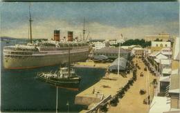 BERMUDA - HAMILTON - THE WATERFRONT - EDIT VULCAN PRESS THE R.A.P. CO. LTD  - 1920s (BG735) - Bermuda