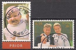 Belgien  (2002)  Mi.Nr.  3148 + 3149  Gest. / Used  (4aa14) - Used Stamps