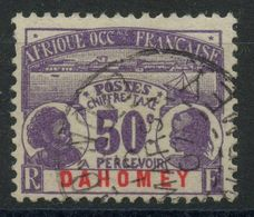 Dahomey (1906) Taxe N 6 (o) - Dahomey (1899-1944)