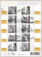 Nederland - 2018 - Velletje Architectuur - Echt Gebruikt - 2013-... (Willem-Alexander)