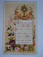 Communion 1888 Anvers Louise Albertine Verhulst Image Pieuse Holy Card Santini C. Morel 902 - Santini