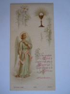 Communion 1902 Anvers Alice Wagemaekers Image Pieuse Holy Card Santini Bouasse-Lebel 2147 - Images Religieuses