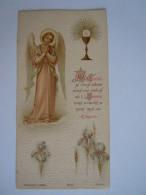 Communion 1902 Anvers Alice Wagemaekers Image Pieuse Holy Card Santini Bouasse-Lebel 2146 - Images Religieuses