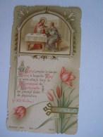 Communion 1902 Anvers Alice Wagemaekers Image Pieuse Holy Card Santini Bouasse-Lebel 2101 - Images Religieuses