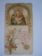 Communion 1902 Anvers Alice Wagemaekers Image Pieuse Holy Card Santini Bouasse-Lebel 2102 - Images Religieuses