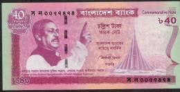 BANGLADESH  P60  40   TAKA   2011      UNC. - Bangladesh