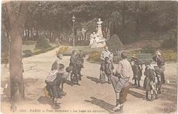 Dépt 75 - PARIS (8è Arr.) - Parc Monceau - La Balle Au Cavalier (jeu D'enfants) - ELD N° 926 - Colorisée - Voir état - Arrondissement: 08