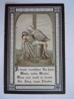 Laurentius Vervloet Echtg Florentia Van Rymenant 1847 1896 Lier Doodsprentje Image Mortuaire - Images Religieuses