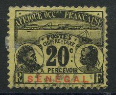 Sénégal (1906) Taxe N 7 (o) - Senegal (1887-1944)