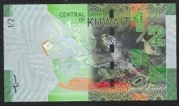 KUWAIT P30  1/2  DINAR    2014           UNC. - Kuwait