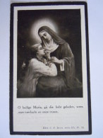 Franciscus Vervloet Wed Eleonora Carolina Maria Vela 1851 Lier 1927 Wommelgem Doodsprentje Image Mortuaire - Images Religieuses