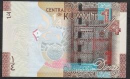 KUWAIT P29  1/4  DINAR    2014           UNC. - Kuwait