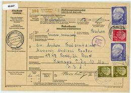 "Nr 195 MIF Aus ""GEORGSMARIENHÜTTE  (Kr. Osnabrück)"" In Die USA - BRD"