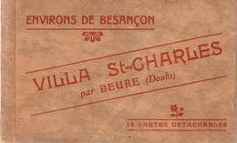 Besancon - Carnet Complet De 12 Cartes De La Villa St-Charles à Beure. Edition CLB. Papier Intercalaire. TB état. . - Besancon