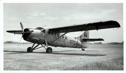 DHC 3 OTTER DE HAVILLAND AIRCRAFT OF CANADA +-  20 * 12 CM - Aviación