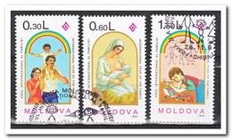 Moldavië 1994, Gestempeld USED, International Year Of The Family - Moldavië