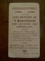 't EEUWFEEST   1829 - 1929  Der Zusters Van CAMPENHOUT - Faire-part